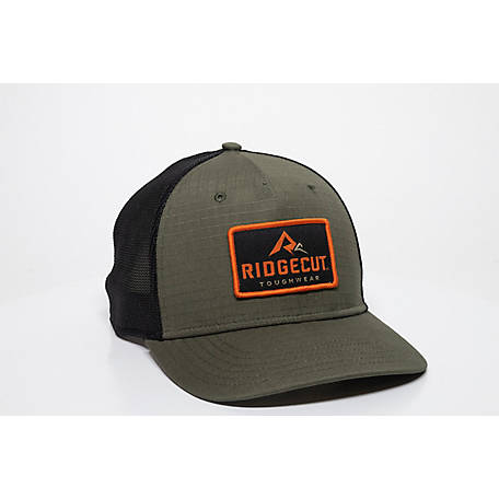 Ridgecut Cotton Rip-Stop Stretch Meshback Hat