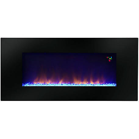 Warm House Widescreen Wall Mounted Led Fireplace, P50-10345