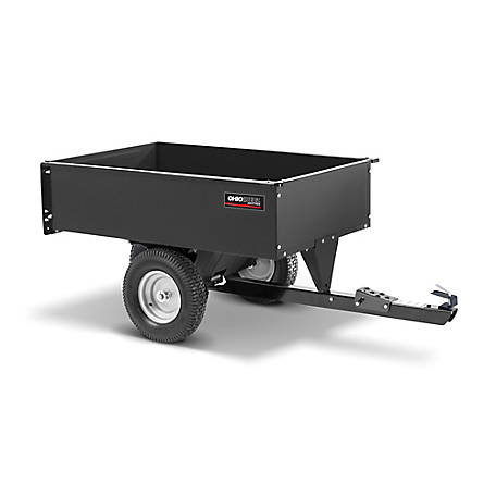 Ohio Steel Steel Swivel Dump Cart 12 cu. ft. Cap, 3048-SD