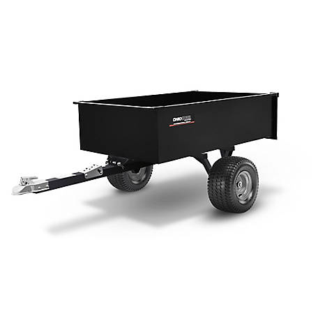 Ohio Steel Welded Steel Swivel Dump ATV Cart, 3460SD-ATV