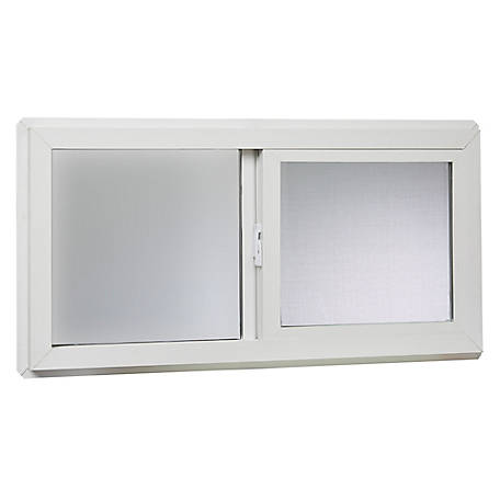 Tafco 32 x 16 Basement Slider Window, Insulated Glass, VBSI3216