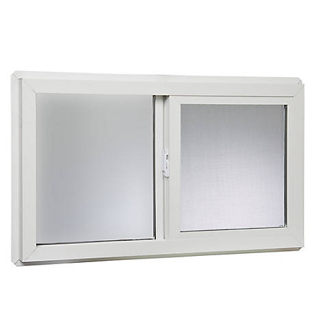 Tafco 32 x 18 Basement Slider Window, Insulated Glass, VBSI3218