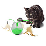 Pet Zone Feather Ground Electronic Cat Toy, 1550013902