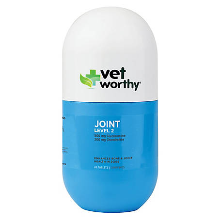 Vet Worthy Joint Level 2 60 ct. Chewable Tablets, 0067-5