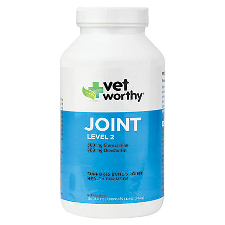Vet Worthy Joint Level 2 180 ct. Chewable Tablets, 0068-2