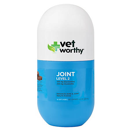 Vet Worthy Joint Level 2 30 ct. Soft Chews, 0026-2