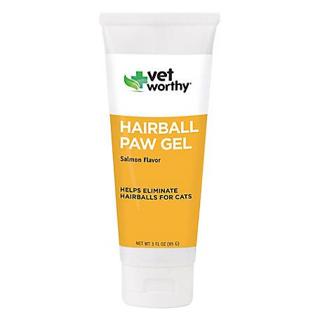 Vet Worthy Hairball Paw Gel 3 oz. Feline, 0049-1