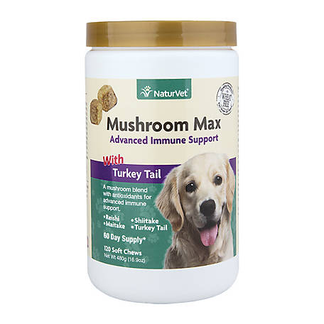 NaturVet Mushroom Max Advanced Immune Support, 79903730