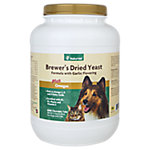 NaturVet Brewers Dried Yeast with Garlic Flavoring Plus Omegas Tablets for Dogs & Cats, 5000 Chewable Tabs