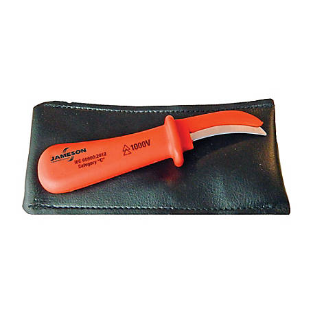 Jameson 1000V Insulated Cable Jointers Knife, JT-CT-01830