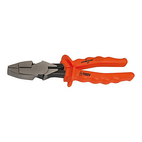Jameson 1000V 9-1/2 in. Linesman Pliers, JT-PL-00045