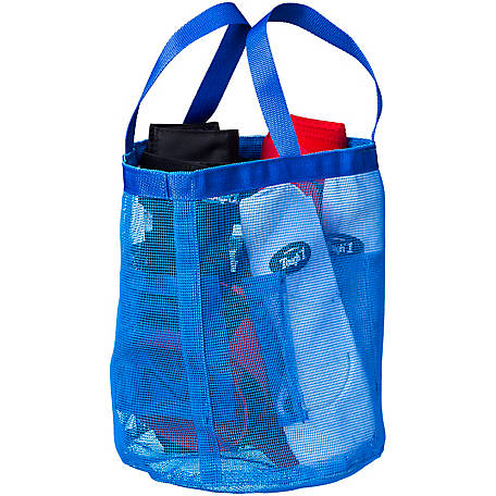 Tough-1 Mesh Wash Tote Blue, 72-9825-4-0