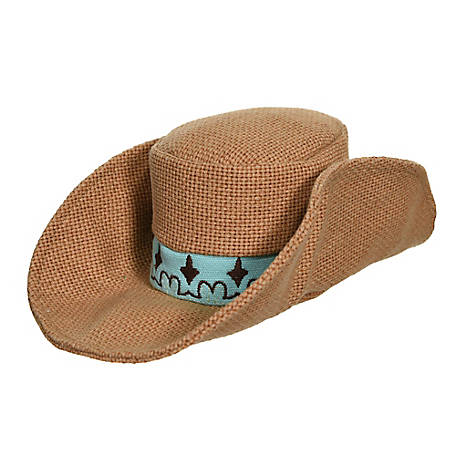 MuttNation Fueled by Miranda Lambert Cowboy Hat Toy, 1218