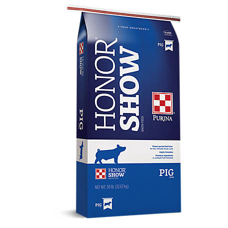 Purina Honor Show MUSCLE & COVER 819 Feed, 50 lb.