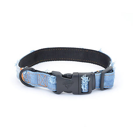 MuttNation Fueled by Miranda Lambert Denim Dog Collar