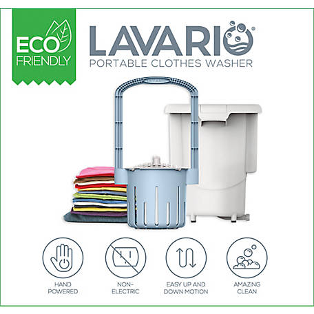 Lavario Portable Clothes Washer, 1204