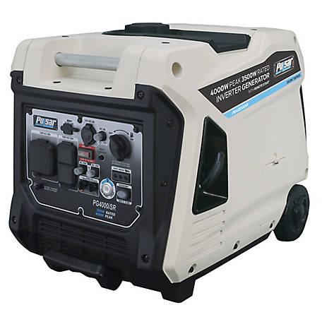 Pulsar Gas Inverter 4,000W Generator with Electric Start, PG4000ISR