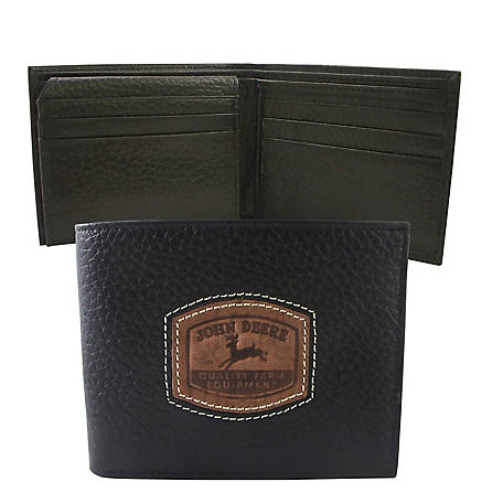 John Deere Genuine Leather Passcase Wallet 4054000