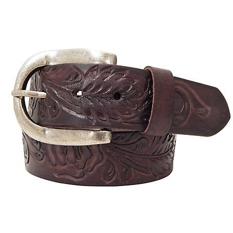 Roper 40MM Floral Genuine Leather Belt 8804790-210