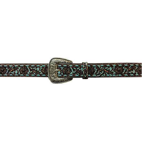 Roper 38mm Leather Floral Emboss Belt 8827790-916