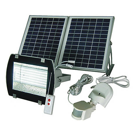 Solar Goes Green 50 Ft Range Light with Sensor, SGG-F156-2R