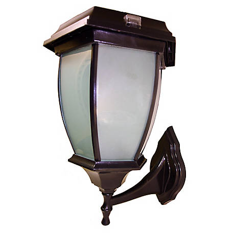 Solar Goes Green Convex Lamp with Wall Mount, SGG-COACH-99-V-W