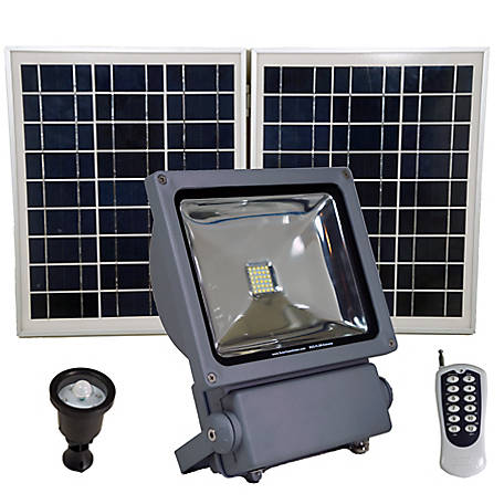 Solar Goes Green Commercial Grade Light with 150 W, SGG-FL5W-EXTREME