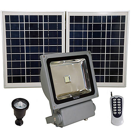 Solar Goes Green Commercial Grade Light with 200 W, SGG-FL9W-EXTREME
