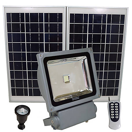 Solar Goes Green Commercial Grade Light with 350 W, SGG-FL12W-EXTREME