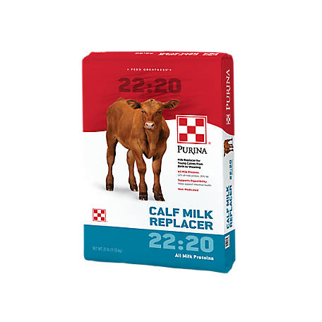 Purina 22-20 All Milk Calf Milk Replacer, Non-Medicated, 25 lb.