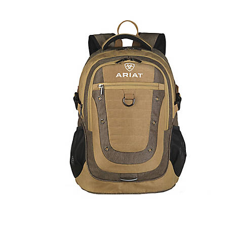 Ariat Backpack Olive Accent Tan