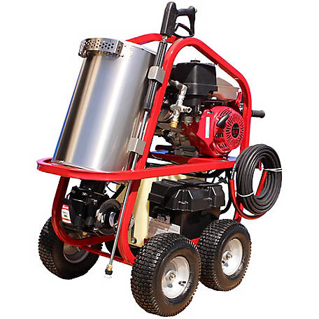 Pressure-Pro 4000 Psi 3.5 Gpm Hot Pressure Washer Honda Engine, SH40004HH