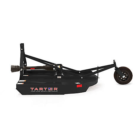 Tarter Round Black 4 ft. Rotary Cutter Series 2, RBRCMB402