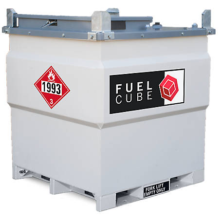 Western Global 250 US gal. Fuelcube Tank Kit, FCP250-12VK