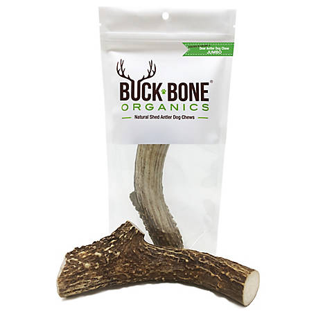 Buck Bone Organics Deer Large Dog Chew, DLJW