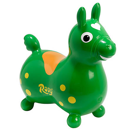 Gymnic Rody Horse, Green, 7002