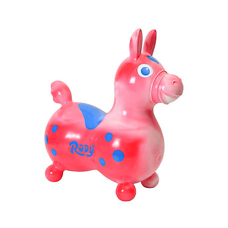 Gymnic Rody Horse, Swirl Red, 7029