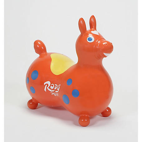 Gymnic Rody Max Horse, Orange, 8005