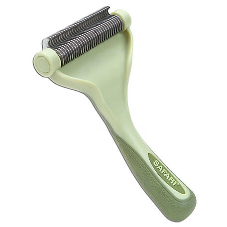 Safari Shed Magic De-Shedding Tool for Dogs with Medium to Long Hair, W6125 NCL00