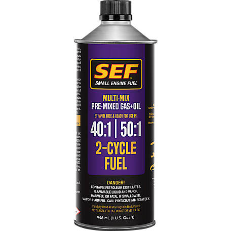 SEF Multimix 40:1 50:1 Premixed Fuel, 8641