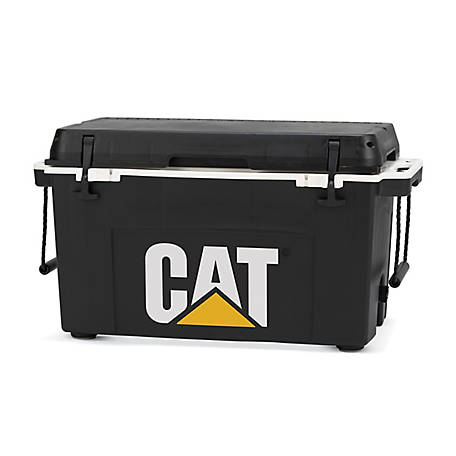 CAT 55 qt. Cat Cooler Black, C5520