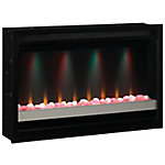 ClassicFlame 36 in. Contemporary Built-In Electric Fireplace Insert, 120v, 36EB111-GRC