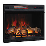 ClassicFlame 28 in. 3D Infrared Quartz Electric Fireplace Insert with Safer Plug and Safer Sensor, 28II042FGL
