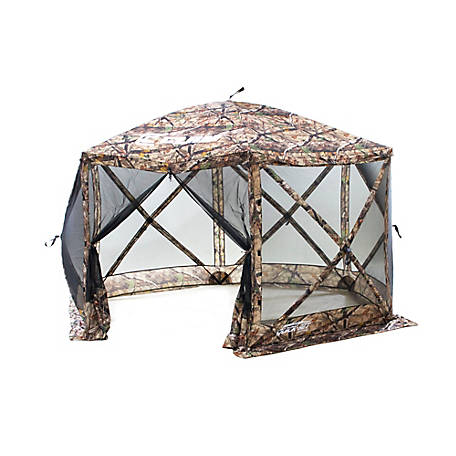 CLAM Escape Screen Shelter 6Side Camoblack 10809
