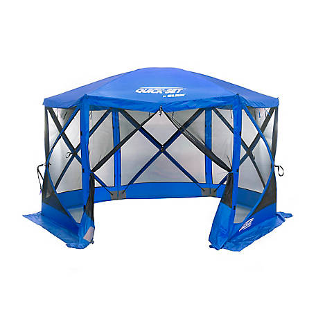CLAM Escape Sport Screen Shelter 6 Blueblue 14203
