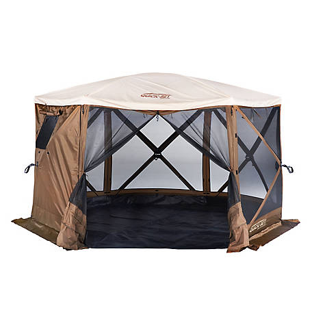 CLAM Sky Camper Screen Shelter 6 Screen Room 12874