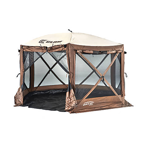 CLAM Pavillion Camper Screen Shelter 12876
