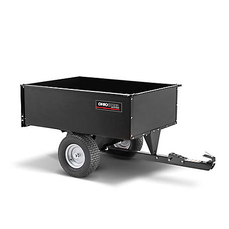 Ohio Steel Steel Swivel Dump Cart 16 Cu Ft/1250 lb. Capacity, 3448-SD