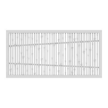 Xpanse Greater Outdoors Decorative Screen Panel Bungalow White, 73042815