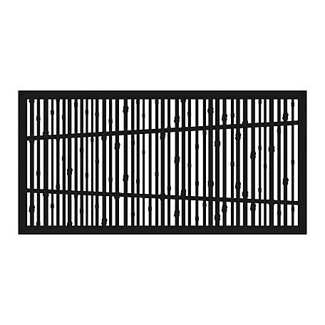 Xpanse Greater Outdoors Decorative Screen Panel Bungalow Black, 73042816